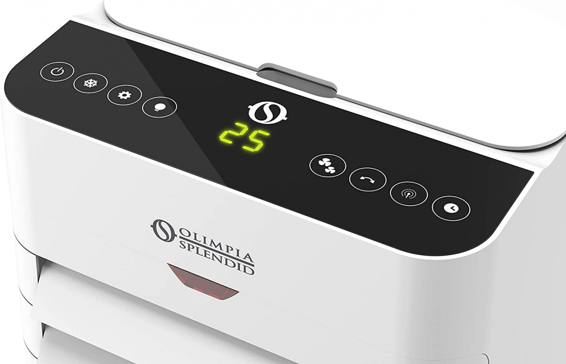 Olimpia Splendid Peler 6C portabil rezervor 6 l incorporat 3 viteze silentios filtru antipraf ionizator temporizator | Racitor de aer 05g_99310