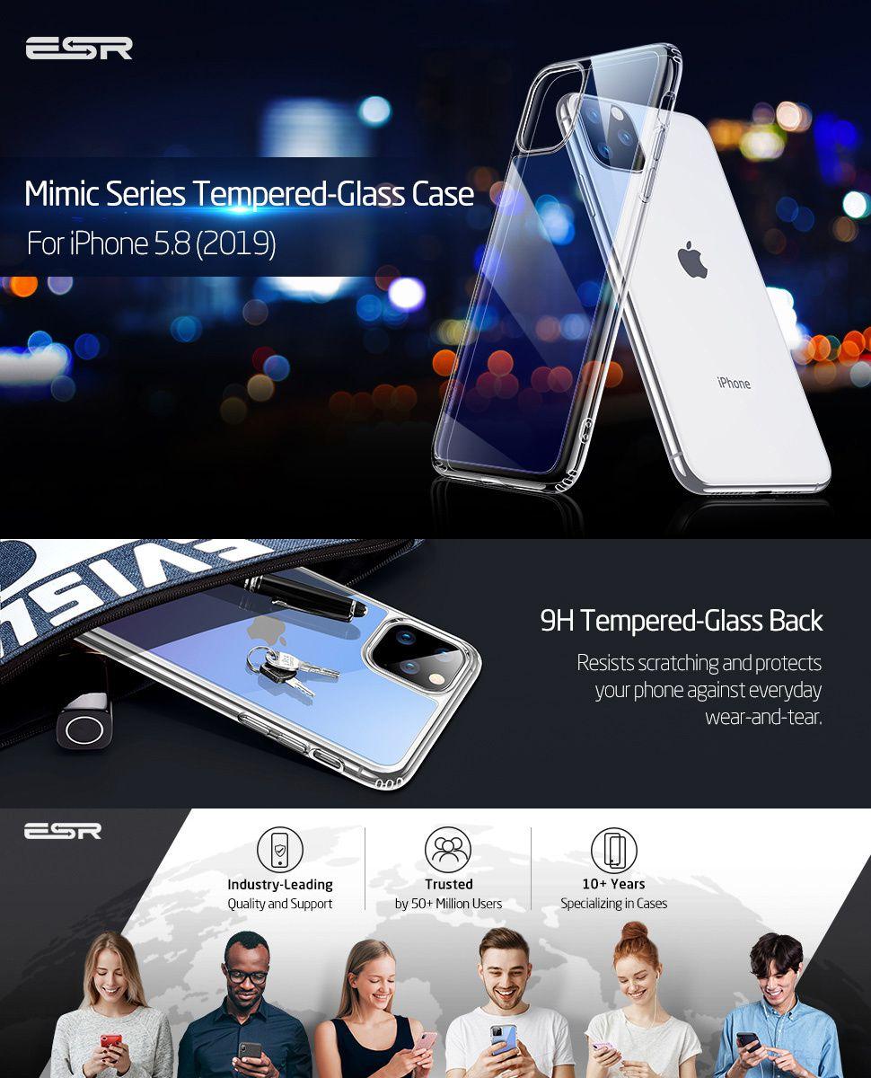 ESR Mimic case for iPhone 11 Pro, Gohub Shop