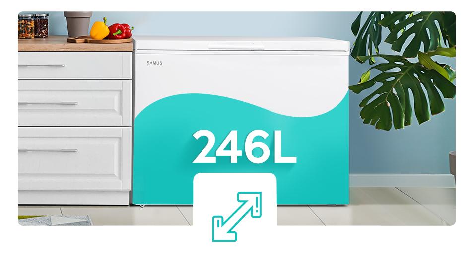 lada frigorifica samus ls271a+ capacitate
