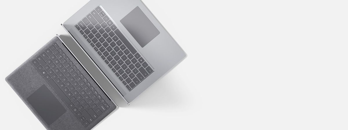 """Surface Laptop 3 back to back in 13.5"""" and 15"""""""