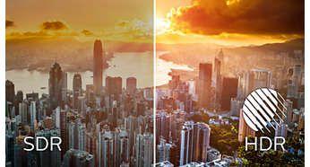 Interval dinamic ridicat (HDR) pentru imagini mai realiste, pline de culoare