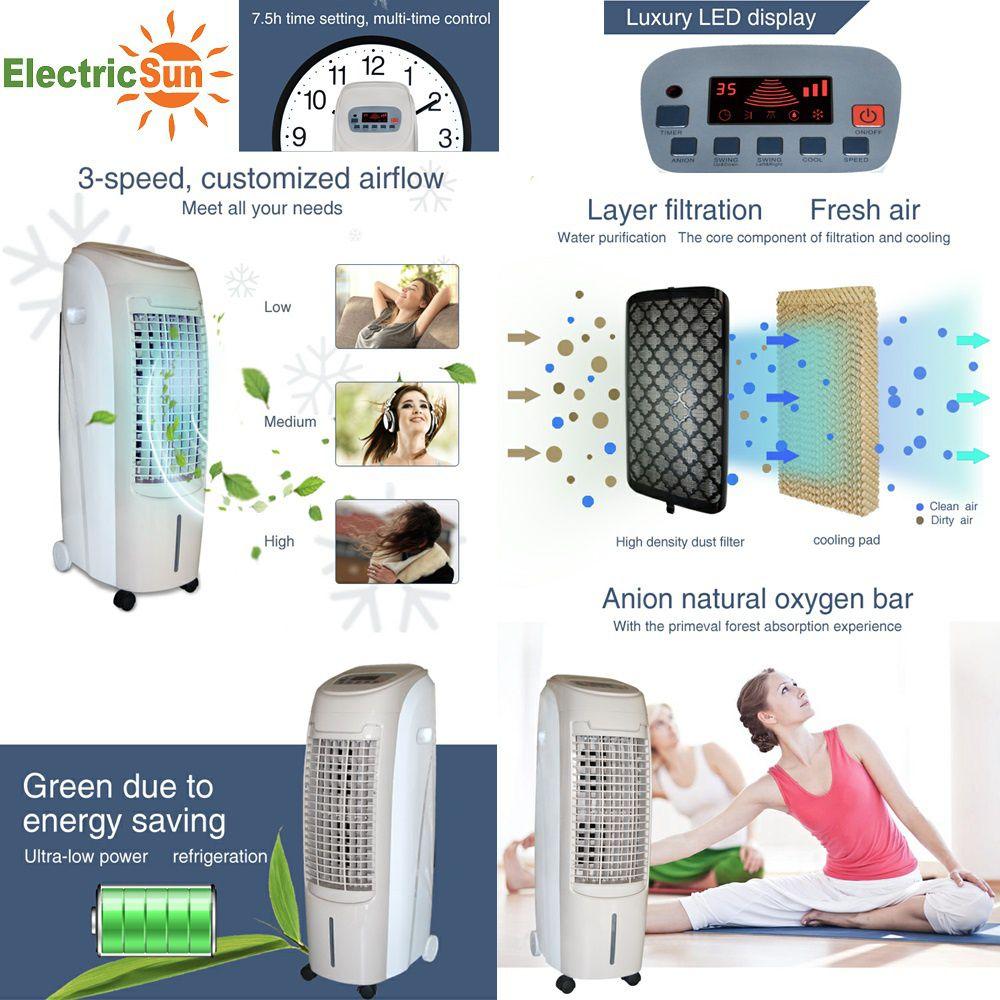 racitor de aer prin evaporare ElectricSun 80W