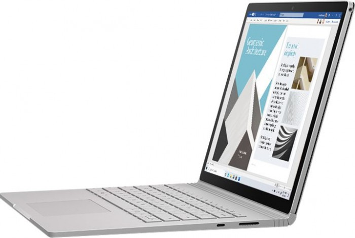 Laptop 2in1 Microsoft Surface Book 3 Intel Core (10th Gen) i7-1065G7 512GB SSD 32GB GTX 1650 4GB PixelSense Touch Win10 Tast. ilum. Platinum