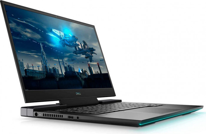 Laptop Gaming Dell G7 17 7700 Intel Core (10th Gen) i7-10750H 1TB SSD 32GB RTX 2070 SUPER 8GB FullHD 144Hz Win10 Pro FPR T. il. Black