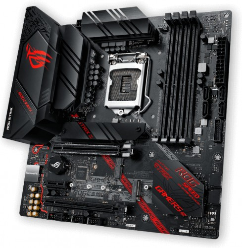 Placa de baza ASUS Rog Strix B460-G Gaming Socket 1200