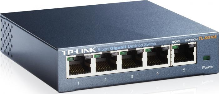 Switch TP Link TL-SG105 5 porturi Gigabit